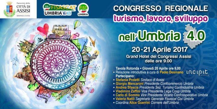 Assisi congressi per fisascat e fist cisl che rinnovano le cariche umbria domani - La tavola rotonda assisi ...