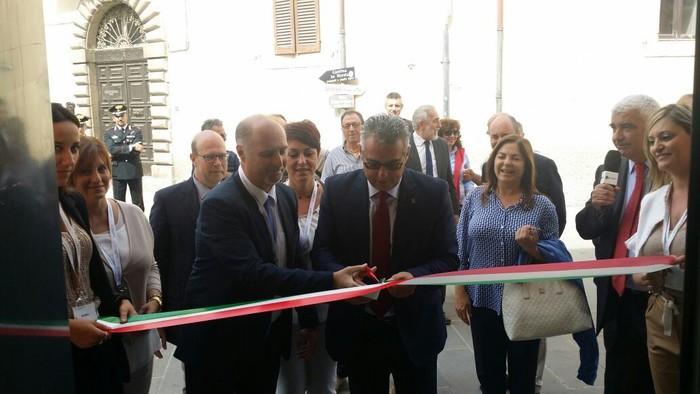 Inaugurata filiale Norcia Intesasanpaolo