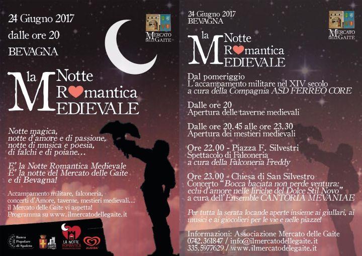 notte romantica medievale