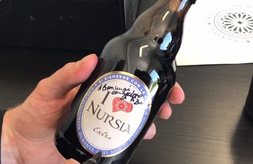 Birra prodotta da monaci Norcia