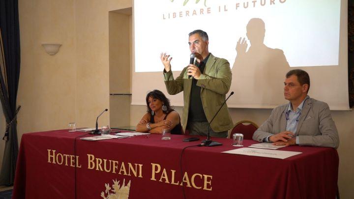 A sinistra Emanuela Mori e al centro Marco Vinicio Guasticchi