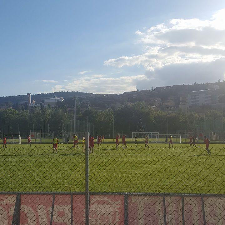 Allenamento Perugia