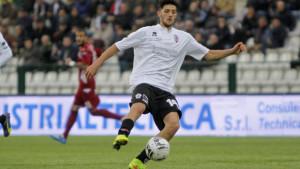 Vercelli 22-11-2014 SerieB 2014/2015 ProVercelli-VirtusEntellaSimone Emmanuello