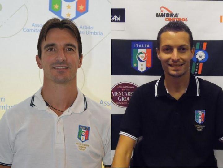 Luca Cucchiarini e Gabriele Magrini