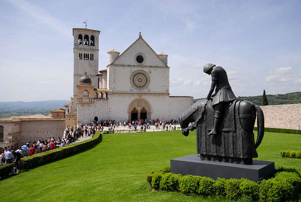 Basilica-Assisi