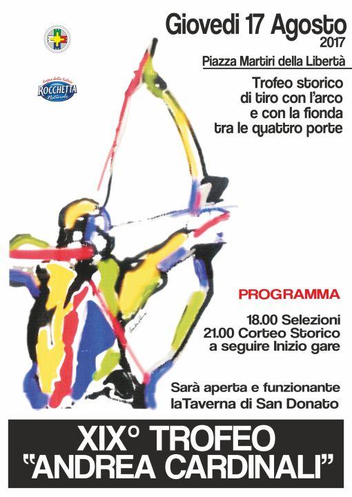 Trofeo Cardinali 2017-2