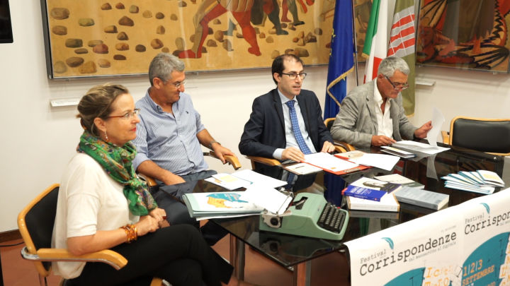 da sx, Luigi Miccio, Eugenio Miccio, Vanni Ruggeri, Aberto Sorbini