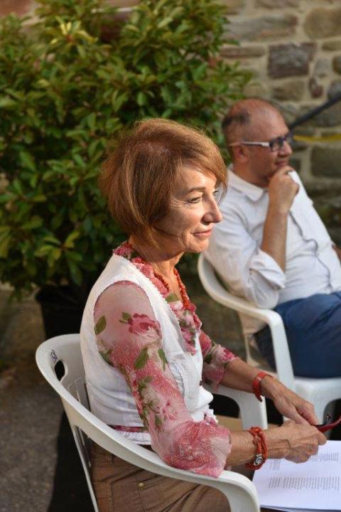 la scrittrice e pittrice serena Cavallini