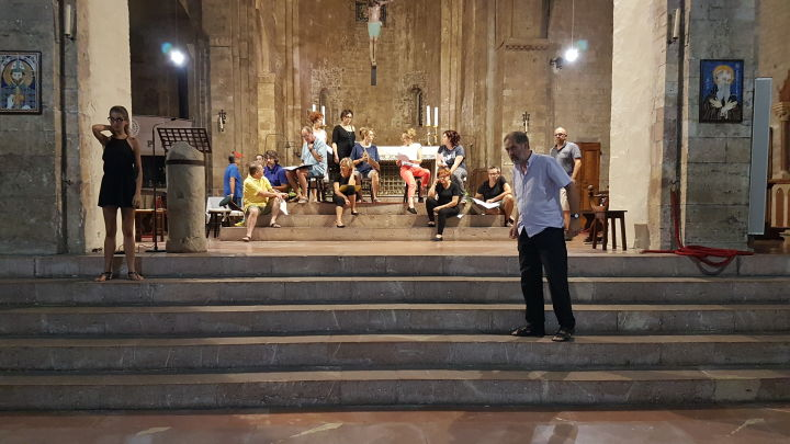 Teatroi sacro Assisi prove (1)