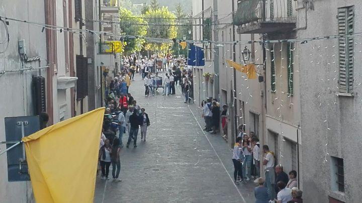 corsa bighe, il rione Piazza giallo