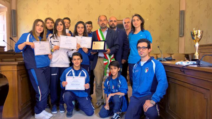 Attestati a scuola Karate di Marsciano