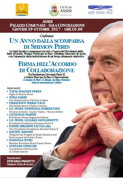 Firma accordo Peres