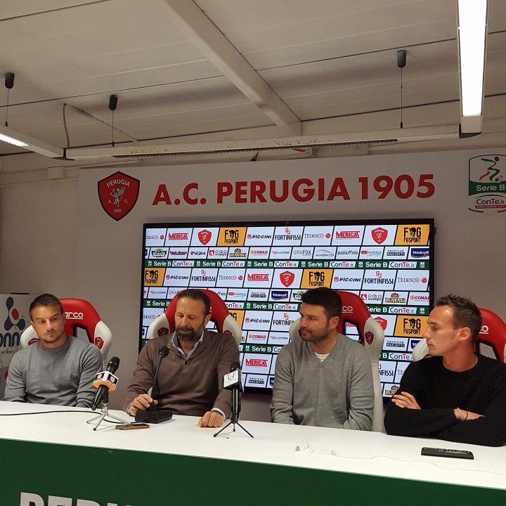 Conferenza stampa Perugia Calcio