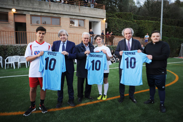 Inaugurazione campo calcio Onaosi