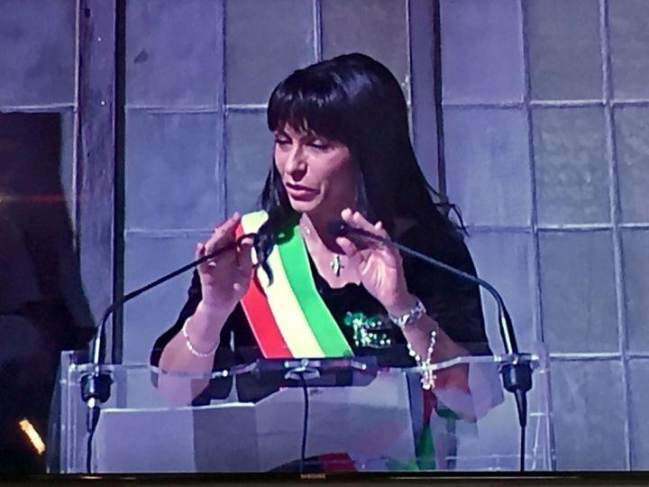 Saluto Stefania Proietti