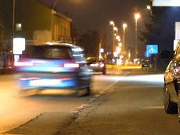 auto di notte