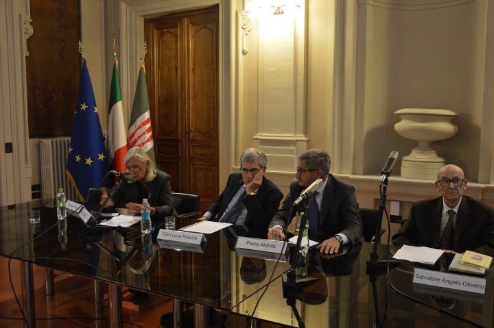 da sinistra, Duranti Gentile, Potestà, Abbritti, Oliverio (2)