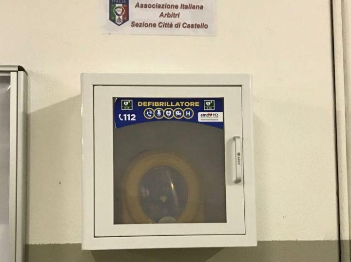 defibrillatore aia città di castello