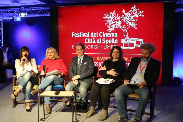 Da sx Simona Fiordi, Donatella Cocchini, Moreno Landrini, Irene Falcinelli e Vincenzo Aronica