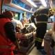 Spoleto, uomo cade sulle scale mobili: intervengono i vigili del fuoco