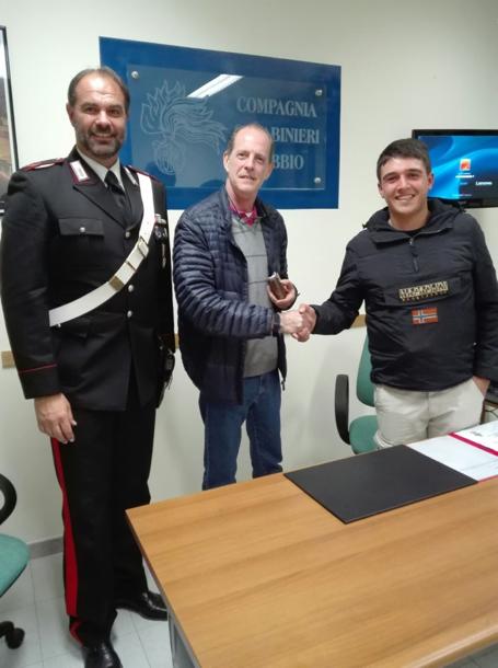 carabinieri portafogli gubbio