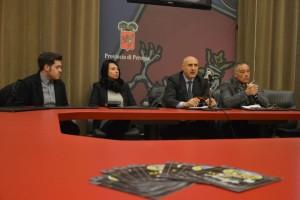 da sx, Vittorio Vetturani, Giusi Santarelli, Lodovico Baldini, Gianpiero Fusaro