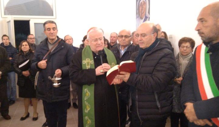 inaugurazione e benedizione nuovo centro parrocchiale di san biagio della valle