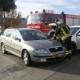 Città di Castello, incidente in via Engels: conducente estratto dai vigili del fuoco