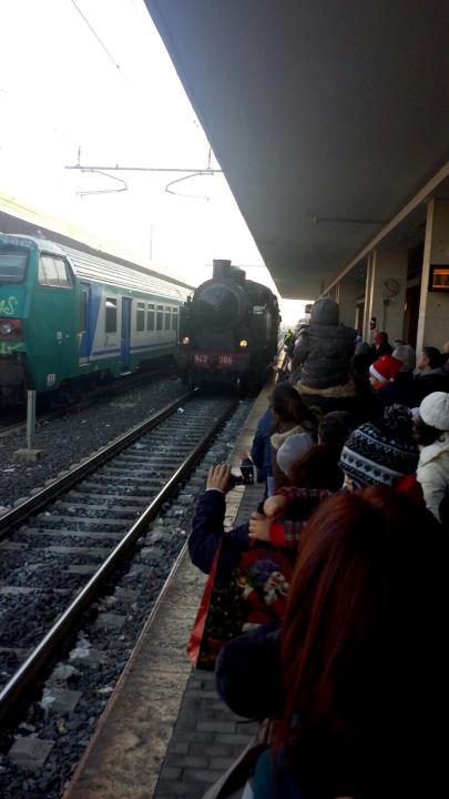 Il treno della carità