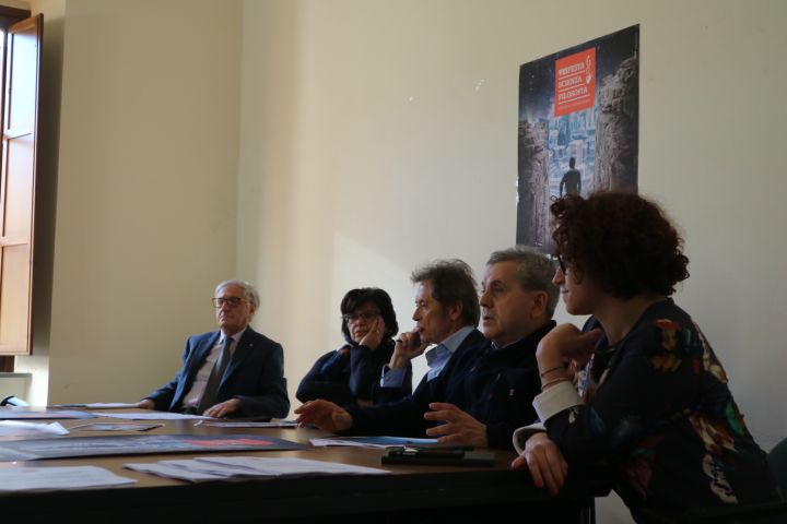 Da sx Maurizio Renzini, Rita Barbetti, Giuseppe Metelli, Pierluigi Mingarelli e Maira Grassi