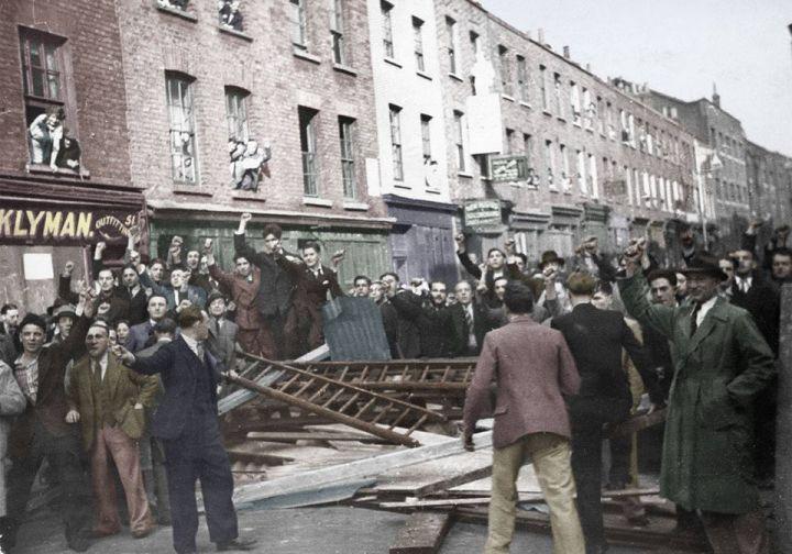Foto della battaglai di Cable Street