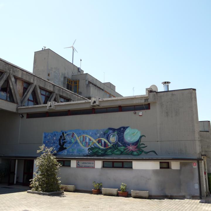La sede del Laboratorio di scienze sperimentali di Foligno