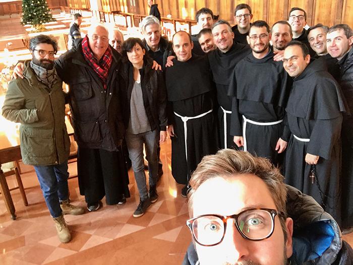 Rivista San Francesco e i frati della Basilica di San Francesco