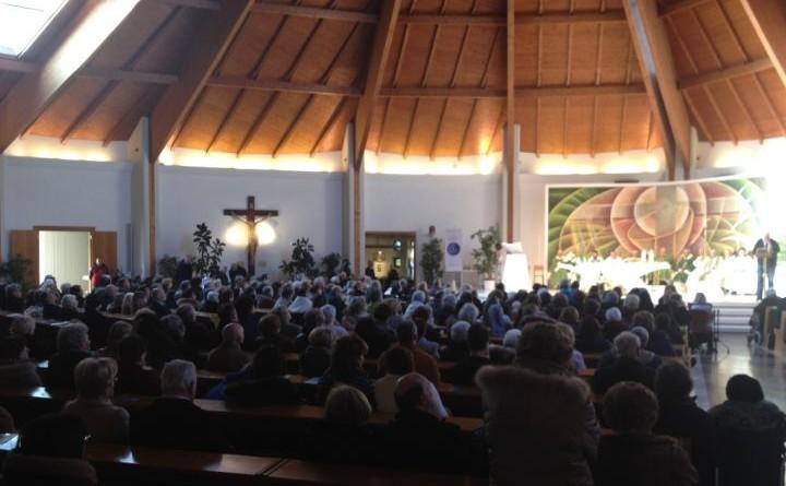 GIORNATA DEL MALATO 2017 A PERUGIA, celebrazione eucaristica chiesa di santa lucia