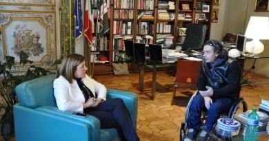 incontro presidente comitato paralimpico (2)