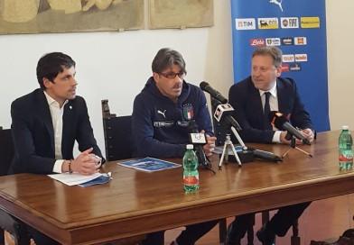 """Calcio, Perugia accoglie la nazionale Under 21. Il ct Evani: """"Giocheremo per vincere"""""""