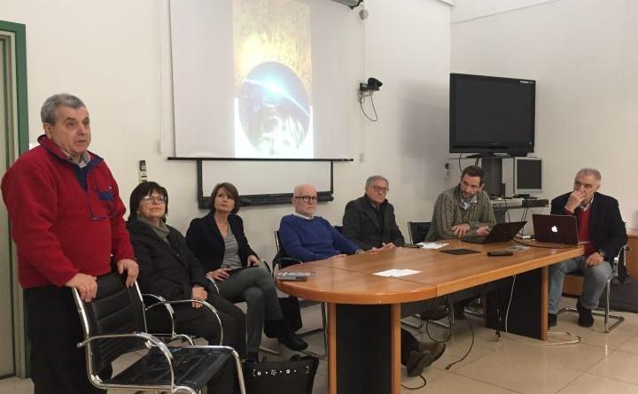 Il tavolo dei relatori intervenuti alla conferenza