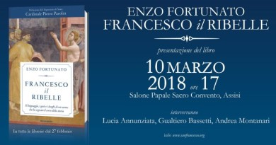 SAVE THE DATE PRESENTAZIONE ASSISI 10 MARZO