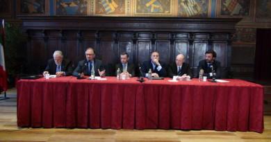 da sx verso dx Stefano Ansideri, Urbano Barelli, Sabatino Chelli, Lugi Damiano, Andrea Seppoloni e Roberto Girolmoni