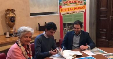firma del protocollo Città della domenica Comune di Perugia (1)