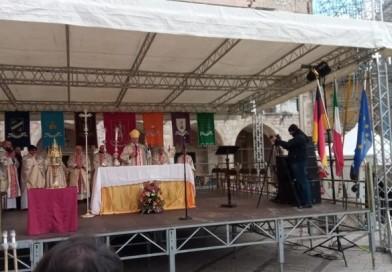 """Norcia, Boccardo alle celebrazioni di San Benedetto: """"Terremoto come Alzheimer"""""""