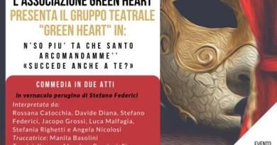 Locandina spettacolo Green Heart (x Centro Speranza)