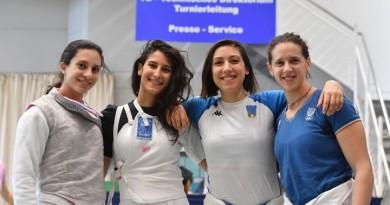 Tauberbischofsheim 27/29 april 2018 World cup foil I day Photo Augusto Bizzi