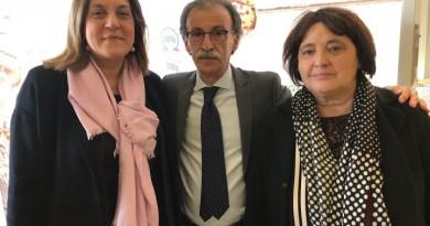da sx Catiuscia Marini, Dino Ricci, Fernanda Cecchini (1)