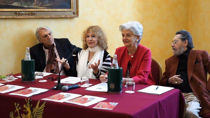 da sx, Peter Hermes, Ilana Vered, Teresa Severini, Franco Venanti