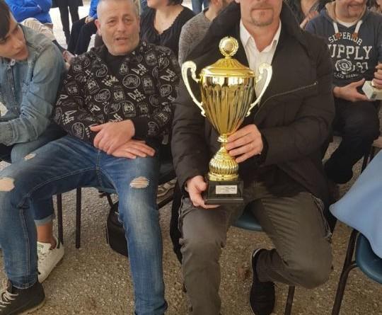 il capitano Luciano Roselli premiato
