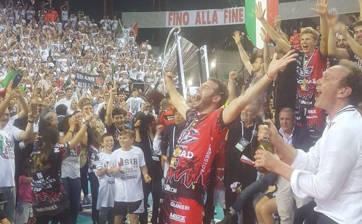 Sir Conad campione d'Italia