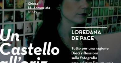 Sellano, al Castello di Postignano incontro con Loredana Pace