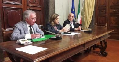 Da sinistra Italo Marri, Catiuscia Marini, Ermanno Rossi 1