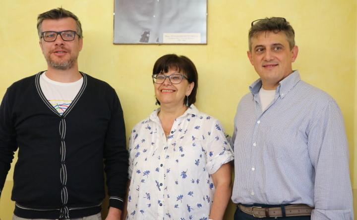 Da sx Filippo Marinacci, Rita Barbetti e Mauro Masciotti